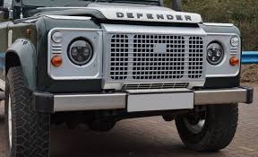 land rover defender vector heritage style front grille kit for landrover defender 90 110