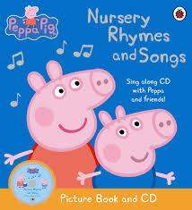 peppa pig nursery rhymes songs picture book cd