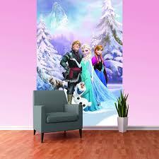 Disney Frozen Bedroom by Disney Frozen Anna Elsa Olaf Sven Bedroom Mural Wallpaper Free
