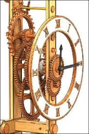 7 Free Wooden Gear Clock Plans by Wooden Gear Clock Plans From Hawaii By Clayton Boyer Wooden Gear