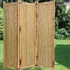 paravent holz garten paravent aus holz weide und bambus f禺r haus und garten