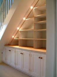 Finished Basement Storage Ideas This One Would Look Just Right Underneath Our Basement Stairs