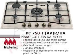 ariston piani cottura piano cottura incasso cucina hotpoint pc 750 t av r ha 5 fuochi