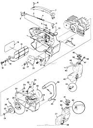 homelite xl chain saw ut 10655 parts diagrams