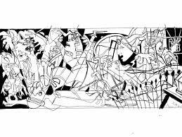 x men guernica sketch by theamat on deviantart
