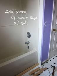 Beadboard Around Bathtub Bathroom Makeover U2013 How To Add Decorative Molding To A Bathtub