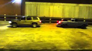 Yellow Ford Ranger Truck - dodge durango vs ford ranger truck pull youtube