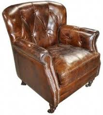 Leather Club Armchair Leather Club Chairs Foter