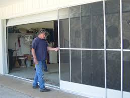 Garage Door Sliding by Garage Doors Outstanding Garageoor Screen Kits Pictures