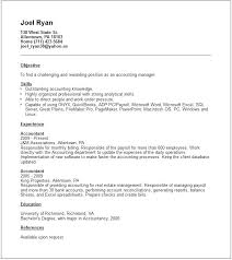account manager resume exles sle resume accounting accounts manager resume exle sle