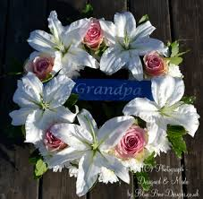 printed ribbon for wreaths funerals and memorials