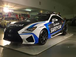 lexus rcf for sale miami lexus rc f safety car inspired wrap sticker pinterest cars