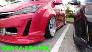 stance fitment appreciation page 25 proton exora pink stance modified meet and greet stance