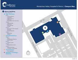 Missouri State Campus Map by Wenatchee Valley Hospital U0026 Clinics Campus Confluence Health