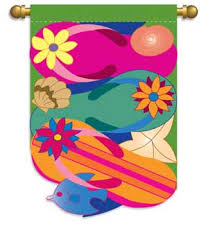 Breeze Art Garden Flags - swaying in the breeze seasonal flags to decorate your home and