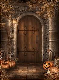 fashion halloween background attractive pumpkins halloween