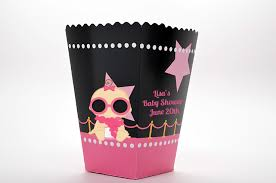 a star is born hollywood black pink personalized baby shower