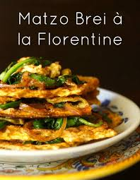 cuisine florentine matzo brei à la florentine recipe for passover cooking on the weekends
