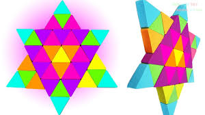 diy how to make kinetic sand cake rainbow triangular art and