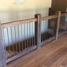 home interior railings custom reclaimed stair railings by creek cabinetry llc