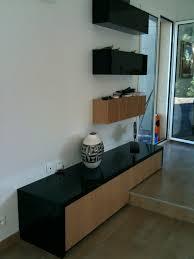 meuble de cuisine noir meuble de cuisine noir luxe best cuisine blanche mur bleu canard