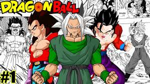 dragon ball fan manga dragon ball af chapter 1 xicor arrives super origin saiyan 4
