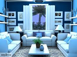 Endearing  Living Room Designs Blue Decorating Design Of - Living room design blue