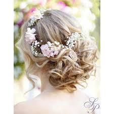 fleurs cheveux mariage chignon mariage avec fleur salon extension cheveux coiffure institut