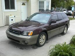 2000 subaru outback information and photos zombiedrive