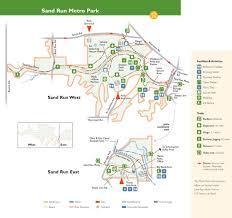 Buckeye Trail Map Sand Run Metro Park Maplets