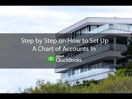 quickbooks tutorial real estate how to set up a chart of accounts for a real estate company in