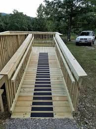 Switch Back Stairs by Switchback Ramp U2014 No Place Like Home Remodeling Roanoke Va