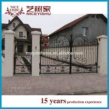 american beautiful ornamental decorative automatic driveway entry