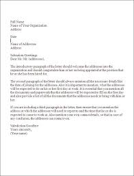 letter of appointment sample letter format to cancel and