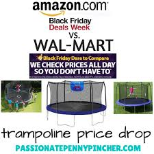 black friday deals target amazom walmart walmart vs amazon trampoline deal passionate penny pincher