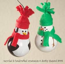 creative ideas diy light bulb ornaments