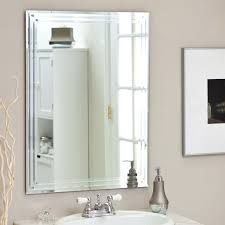 triple mirror bathroom cabinet rectangular 31 5 inch bathroom vanity wall mirror with