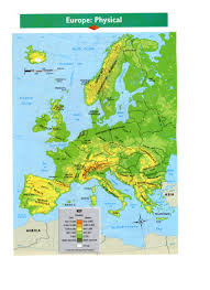 Europe Map Physical by Maps
