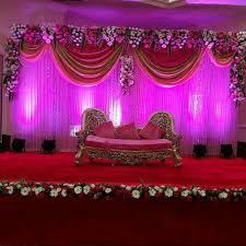 wedding stage decoration wedding flower decoration in babu colony