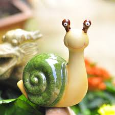 snail garden home decorations of ceramic decoration ceramic