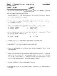 topic 1 problem set 2016 significant figures euclidean vector