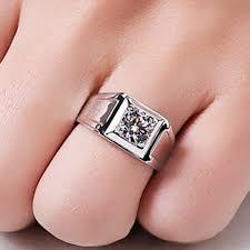 aliexpress buy 2ct brilliant simulate diamond men online shop 1 carat vintage solitaire simulate diamond men
