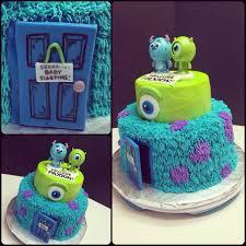 monsters inc baby shower cake brayden u0027s 1st birthday
