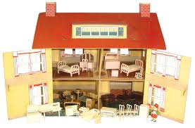 8 Pc Dining Room Set Tootsietoy Dollhouse U0026 Furniture C 1927 8 Pc Dining Room Set 7