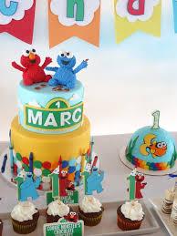 kara u0027s party ideas elmo cookie monster sesame street birthday party