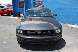 2007 ford mustang deluxe 2007 ford mustang v6 deluxe 2dr fastback in tucson az zano cars