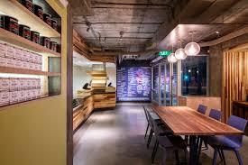 interior design for simply raw restaurant u2013 santa monica ca