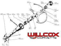 1968 corvette steering column 1963 1966 corvette corvette steering column in general picture