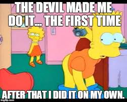 Bart Simpson Meme - bart simpson butt imgflip