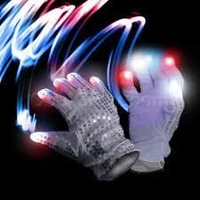 Light Up Gloves Led Light Up Gloves For Glow Party Light Up Costume By Huboptic